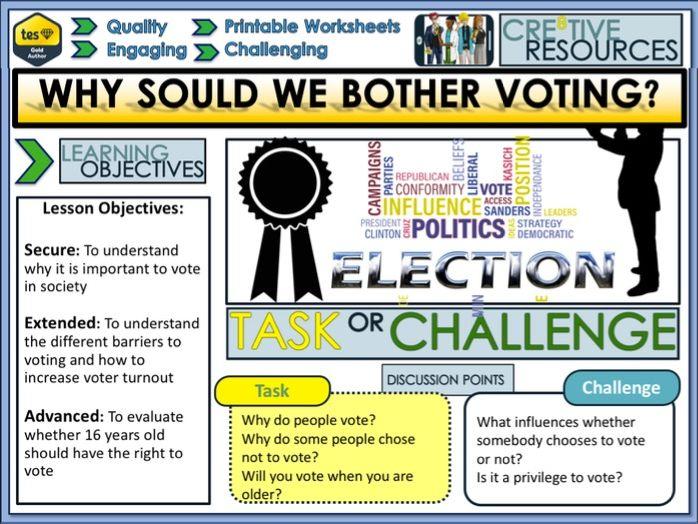 Why vote + Politics
