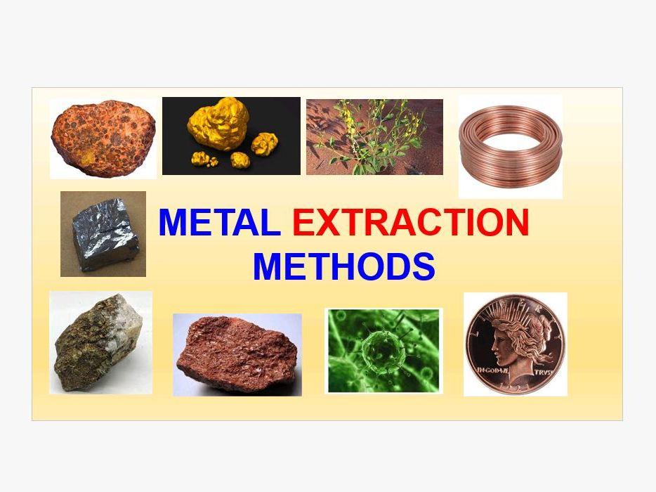 Metal extraction methods