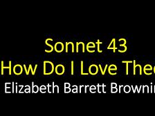 Sonnet 43 by Elizabeth Barrett Browning