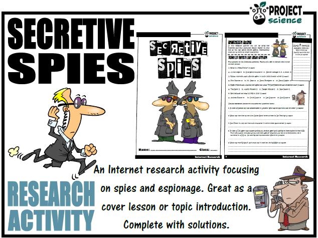 Secretive Spies Internet Research Activity