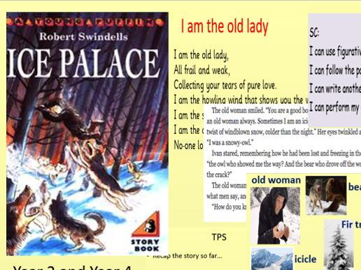 Ice Palace Free Verse Poem
