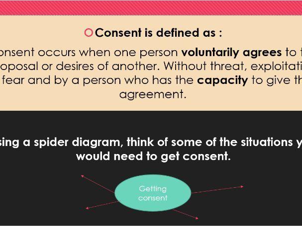 Consent PHSE