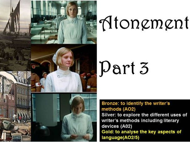 Teaching activities for Atonement part 3 aqa love and relationships
