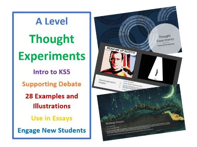A Level RS and Philosophy: Thought Experiments and Illustrations
