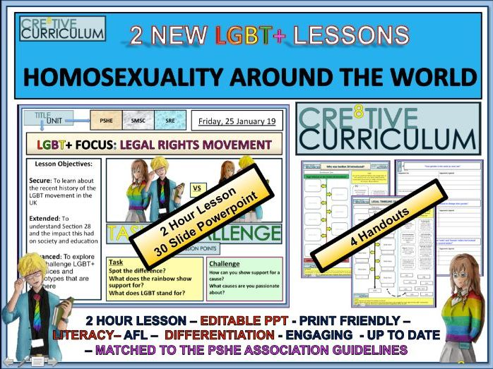 LGBT+ Human Rights Across the World RSE/C8/LS/11