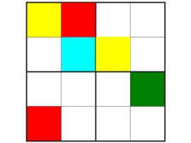 Color and Shape Sudoku - Easy
