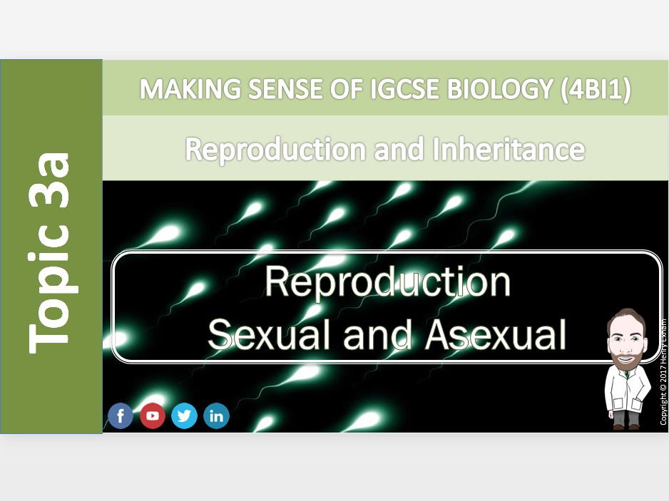 IGCSE Biology 9-1 - 3a Sexual and Asexual