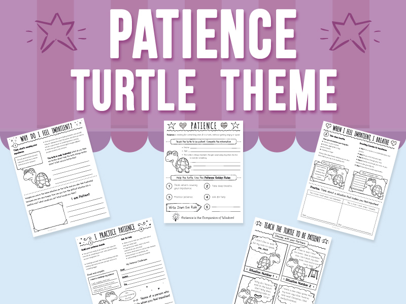 Patience - Turtle Theme