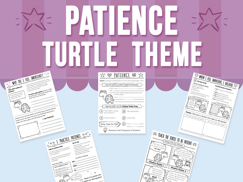 Patience - Turtle Theme