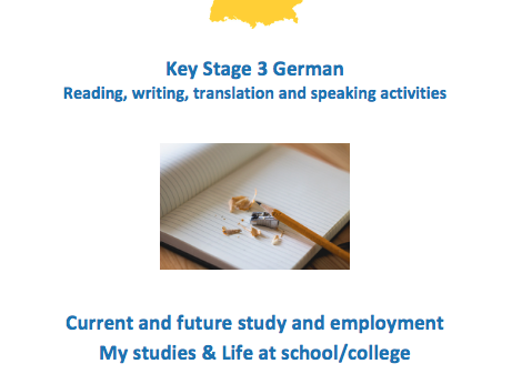 Key Stage 3 German - School - New GCSE-style questions