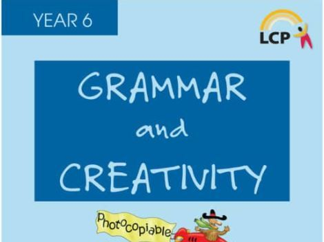 Year 6 English Spelling, Grammar and Creativity (full book 71sheets) includes Answers Home learning.