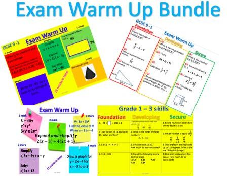 Examination Warm-up
