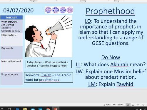Risalah (Prophethood) - Islam