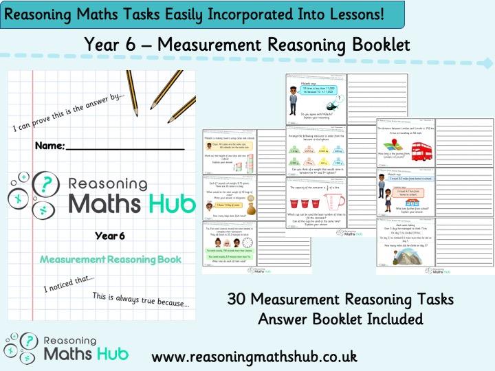 Year 6 - Measurement Reasoning Booklet