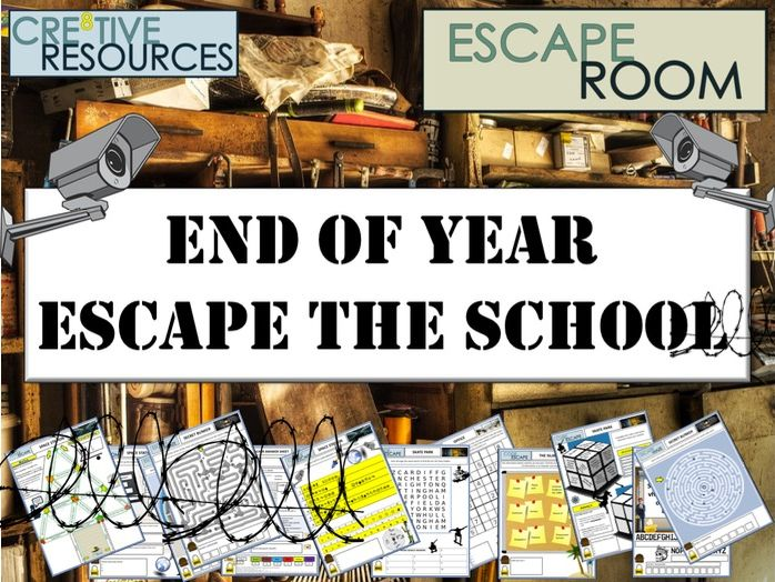 End of Year - Escape Room