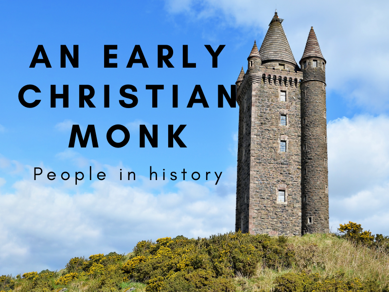 An Early Christian Monk - People in History