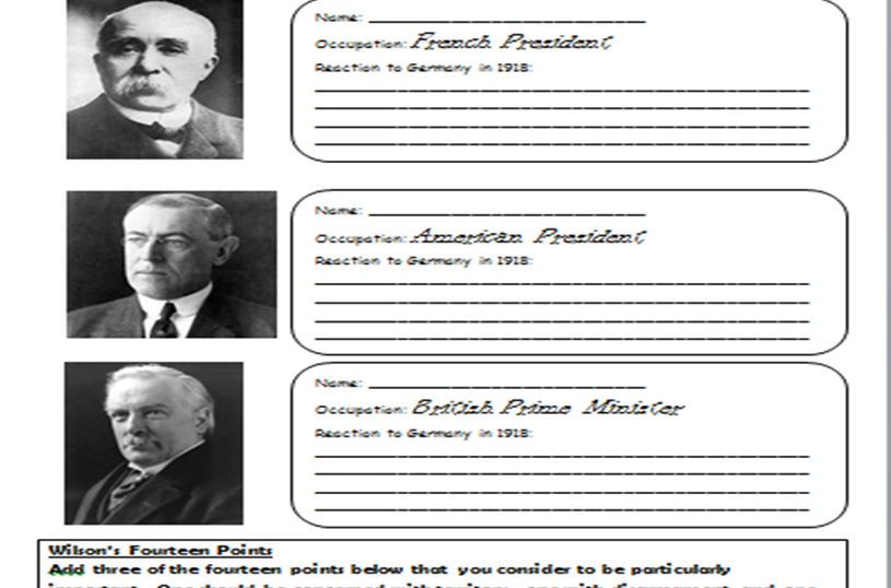 Revision workbook for the AQA 1-9 Conflict and Tension (1918-1939) unit