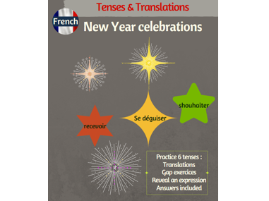 End of year celebrations in French: tenses & translations practice
