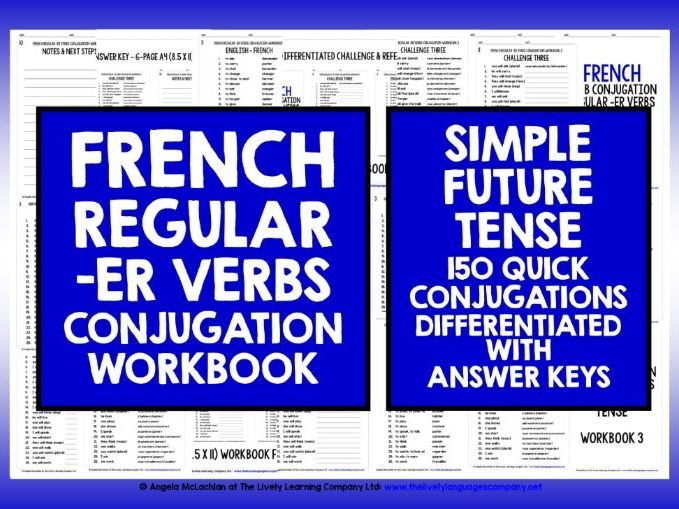 FRENCH -ER VERBS SIMPLE FUTURE TENSE