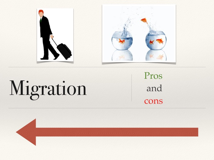 Migration Pros and Cons