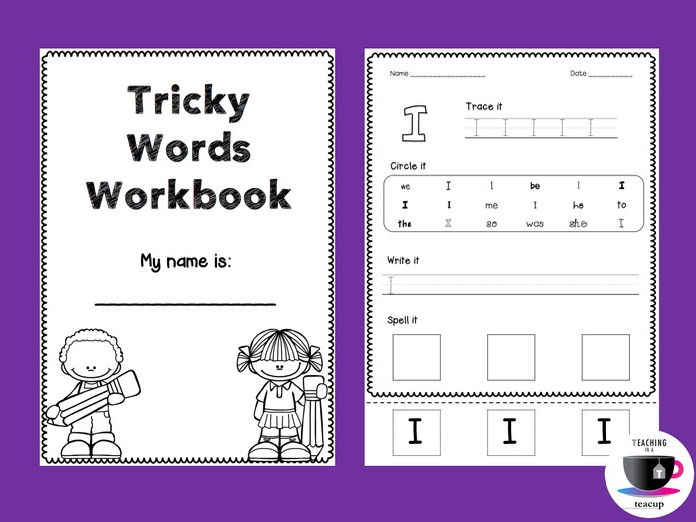tricky words worksheets jolly phonics by teachinginateacup teaching resources. Black Bedroom Furniture Sets. Home Design Ideas