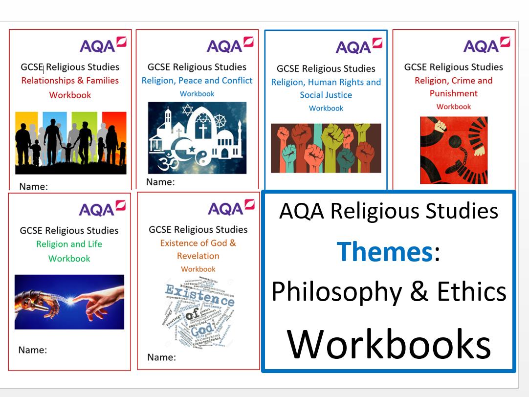 AQA: GCSE Religious Studies: Philosophy & Ethics: Themes Workbooks