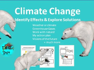 Climate Change, Project based learning, KS1, NGSS