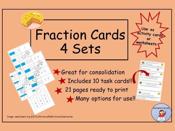 FractionCards/Worksheets