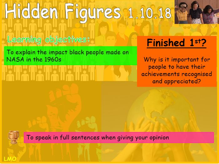 Black History Month: Hidden Figures resource