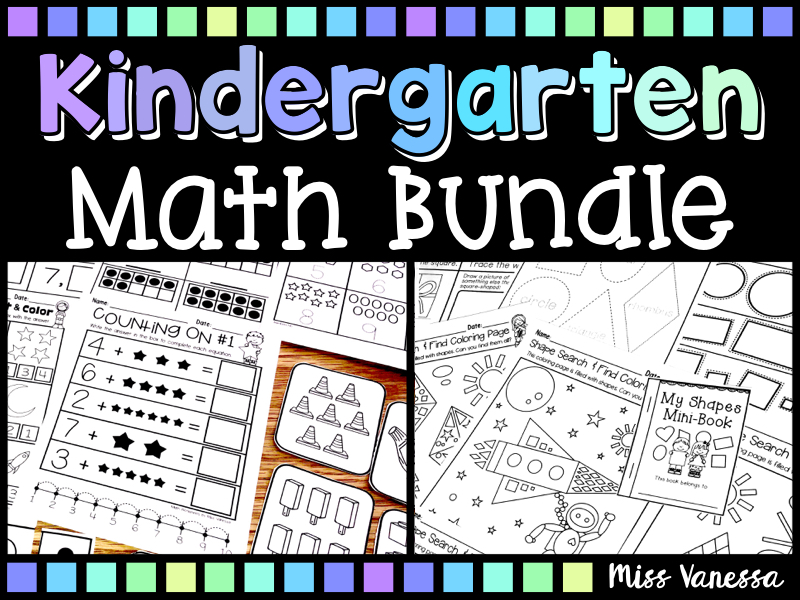 Kindergarten Math Worksheets And Printables