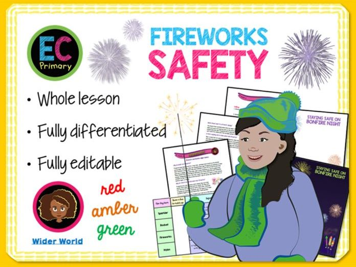 Bonfire + Fireworks Safety