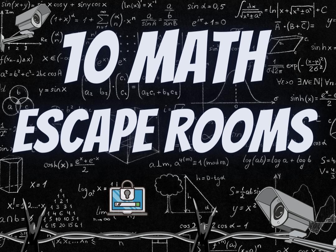 Maths Escape Rooms