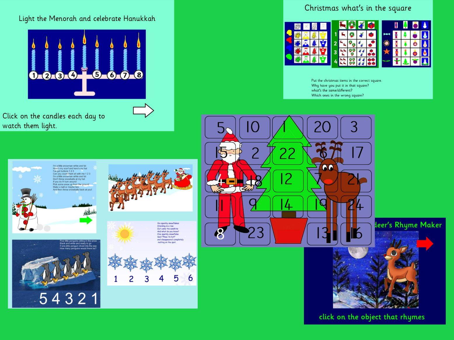 Christmas and seasonal celebrations