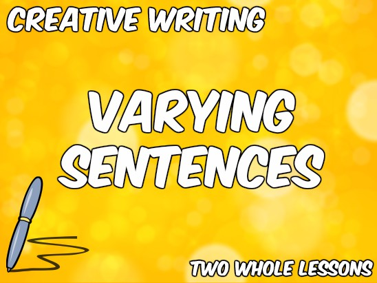Varying Sentences in Creative Writing