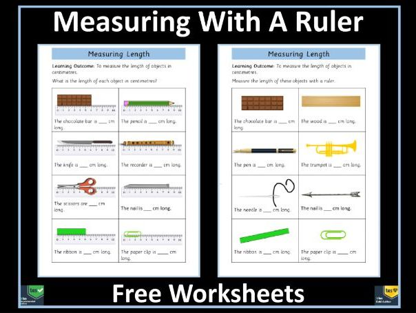 Measuring Length With Ruler