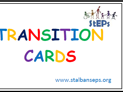 Transition discussion cards