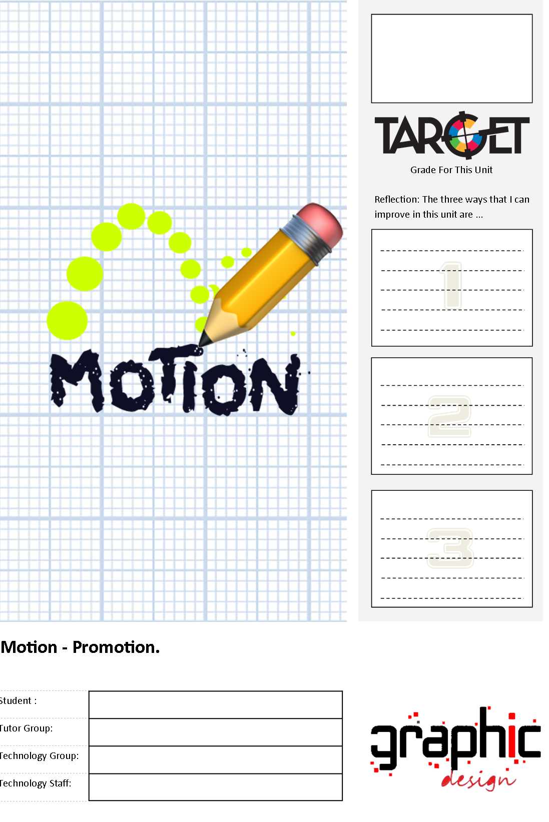 Motion - Student workbook and Homework book bundle (Save 17%)