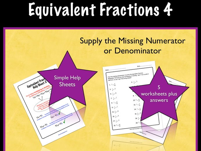 Equivalent Fractions Game And Activities by letsrockmath ...