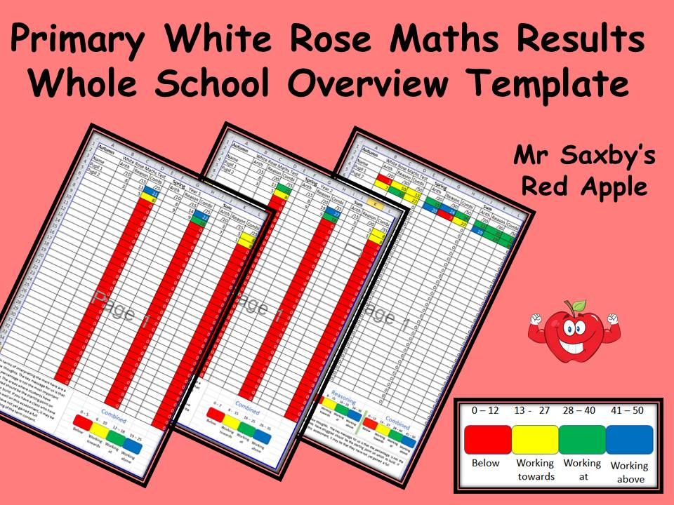 White Rose Assessment Guidance Primary School WRMaths Whole Maths Pack