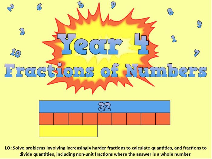 Fractions of Numbers (Day 4)