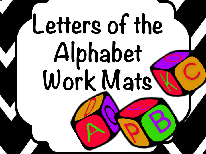 Letters of Alphabet Task Cards