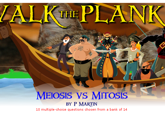 Fun Starter or Plenary Involving Mitosis and Meiosis.