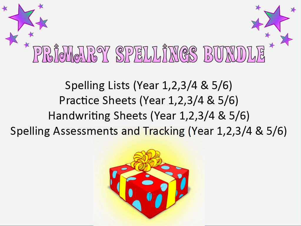 Primary Spellings Pack