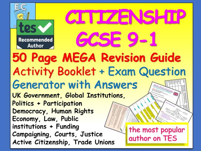 Citizenship GCSE 9-1 Revision
