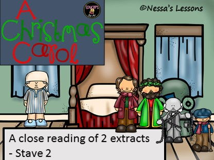 A close reading of 2 extracts. A Christmas Carol