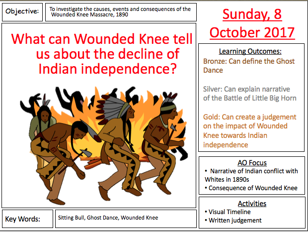 GCSE 9-1 American West - The Wounded Knee Massacre