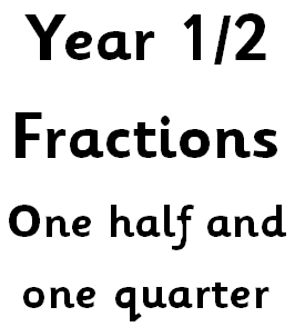 Year 1/2 - Fractions