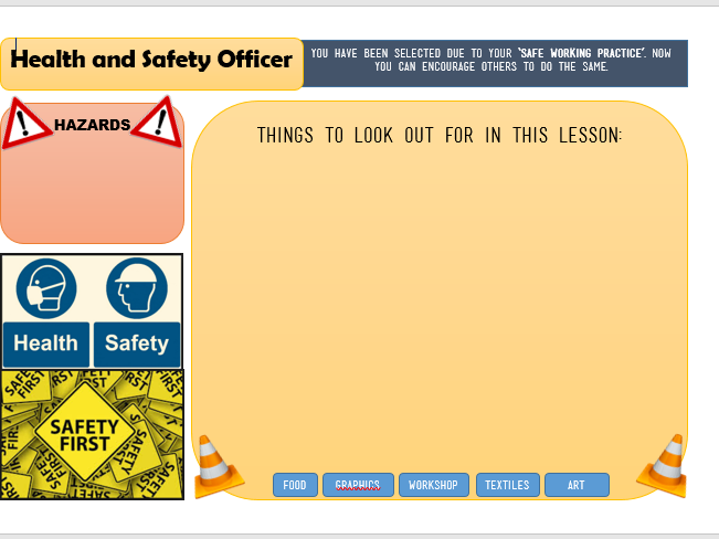 Health and Safety for KS2-3