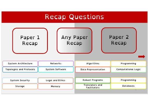 OCR J276/J277 Recap Grids 300+ Questions