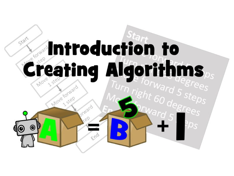 Introduction to Creating Algorithms!